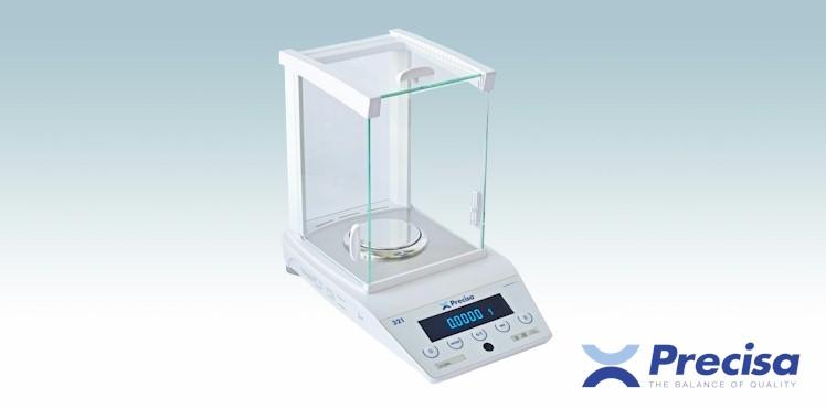 Precisan analyysivaaka 321-mallisarja, LS-mallisto, Max= 120/220/320g, d=0,0001 g (0,1 mg)