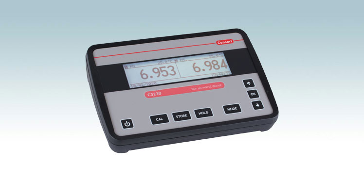 Consortin uusi C3200-ph/johtokykymittari vain Teo-Palilta