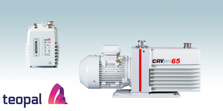 Welch-Ilmvac CRVpro 65-vakuumipumppu Teo-Palilta
